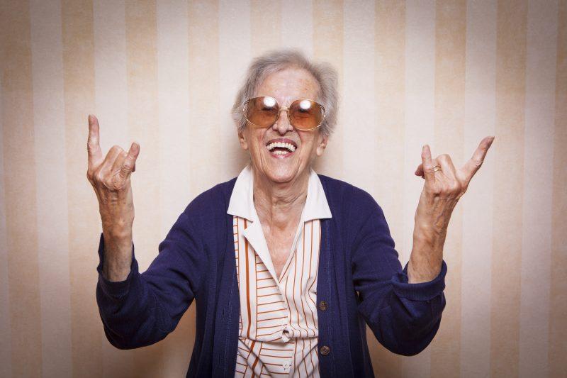 Rocker Grandma
